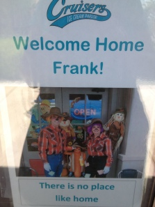 Welcome Home Frank!