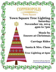 2014 tree lighting